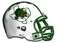 Carroll Dragons football helmet
