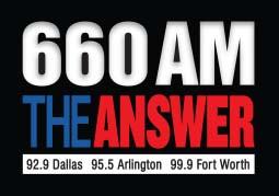 660AM The Answer logo