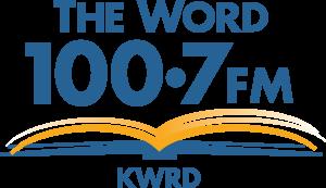 The Word 100.7 FM logo